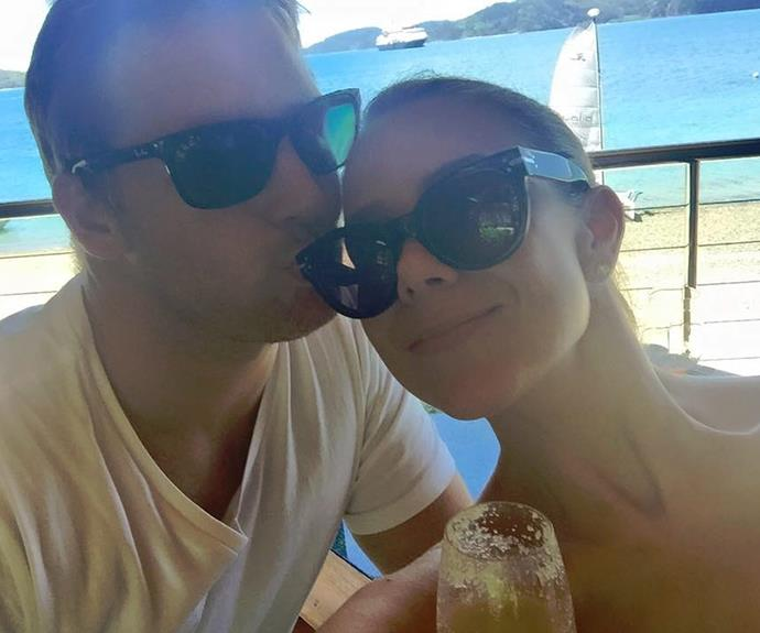 Last December, the couple tapped into their honeymoon bliss when they went on holidays.