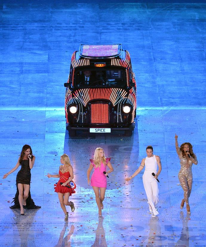 The Spice Girls last performed as a five-piece at the 2012 Olympic Opening Ceremony in London.