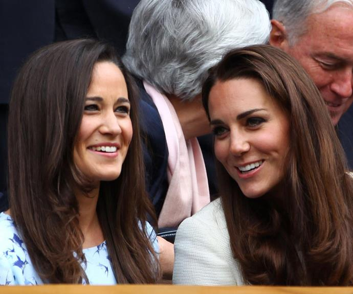 Kate and Pippa reportedly share a competitive nature, which helps them to push through tough workouts together!