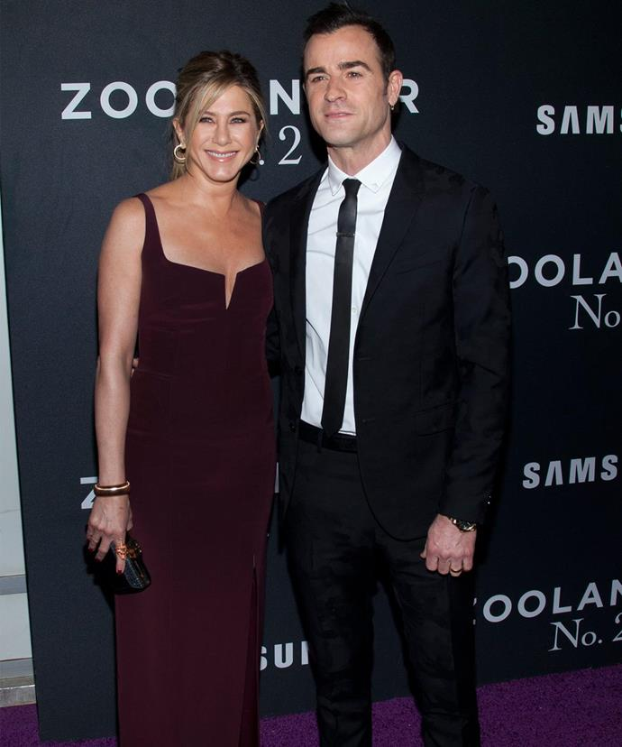 Nancy wasn't invited to her daughter's wedding to Justin Theroux last year.