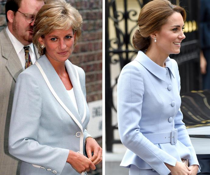 A perfect tribute to Lady Di from Catherine.