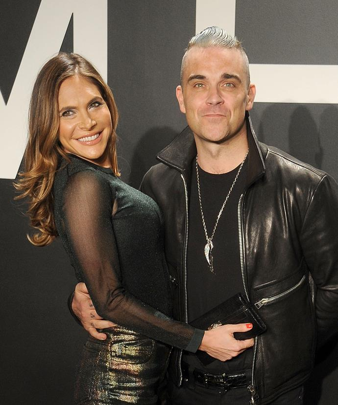 Robbie confessed his life is so much better with wife Ayda and his kids.