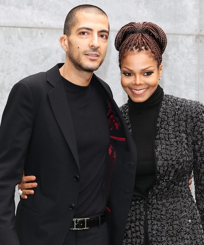 It's the first child for Janet, 50, and husband Wissam, 42.