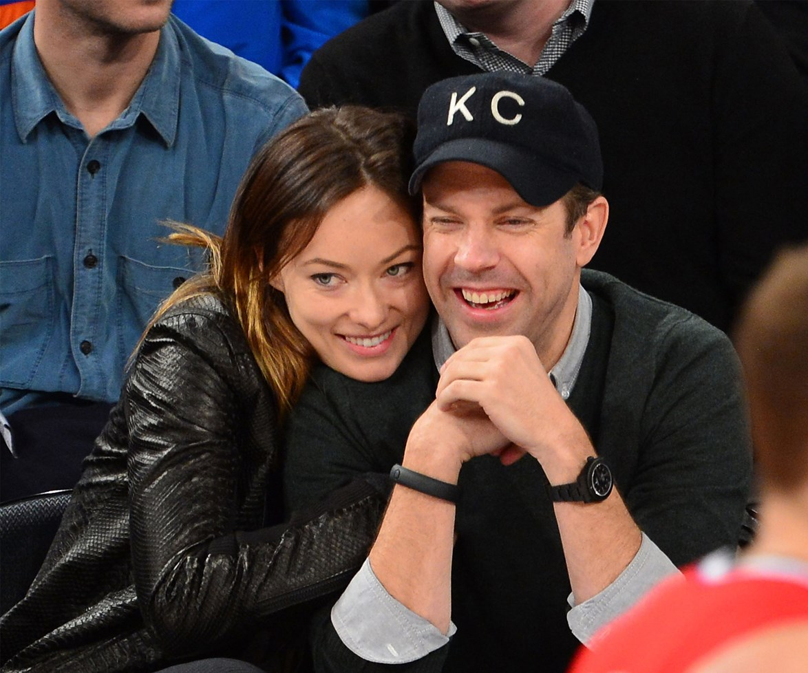 """Jason Sudeikis and [Olivia Wilde](http://www.womansday.com.au/celebrity/hollywood-stars/pregnant-olivia-wilde-calls-out-selfish-train-riders-16538