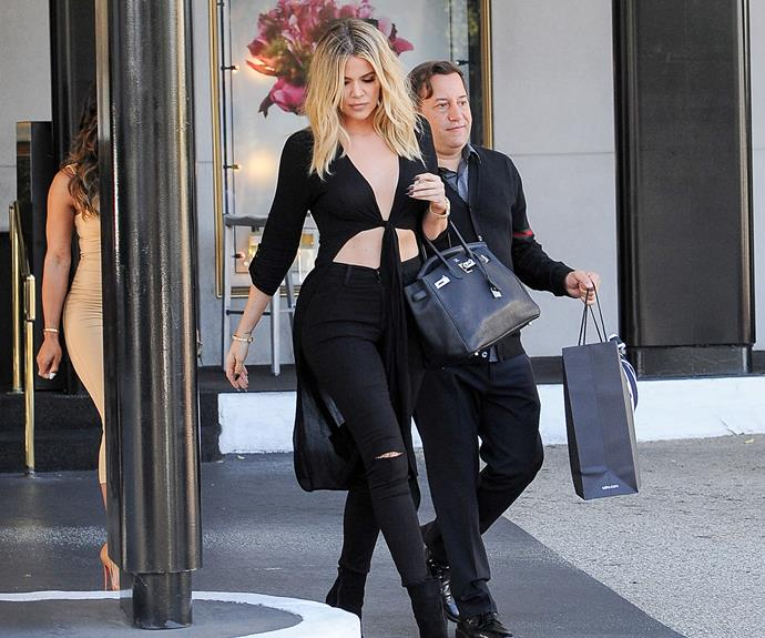 Now: Khloe is often praised for her physique by fans and shows off her gruelling daily workouts on her social media.