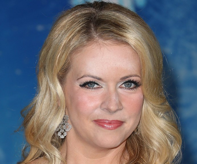 *Sabrina The Teenage Witch* star Melissa Joan Hart also dons a dusting on her forehead and nose.