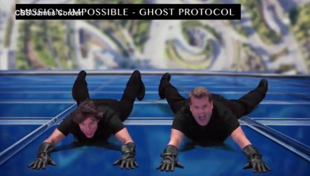 Putting the possible in *Mission Impossible*.