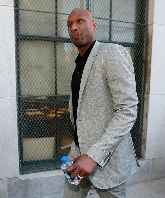 Lamar reportedly was unable to stay sober.