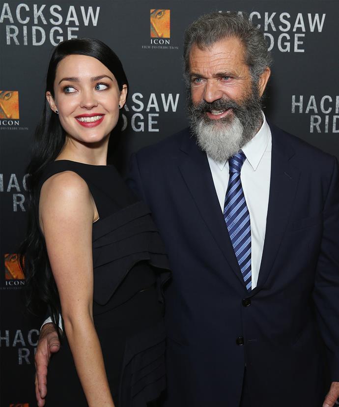 The pair at the Hacksaw Ridge premiere.