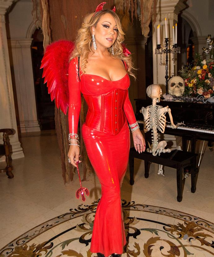 Mariah looked devilishly good!