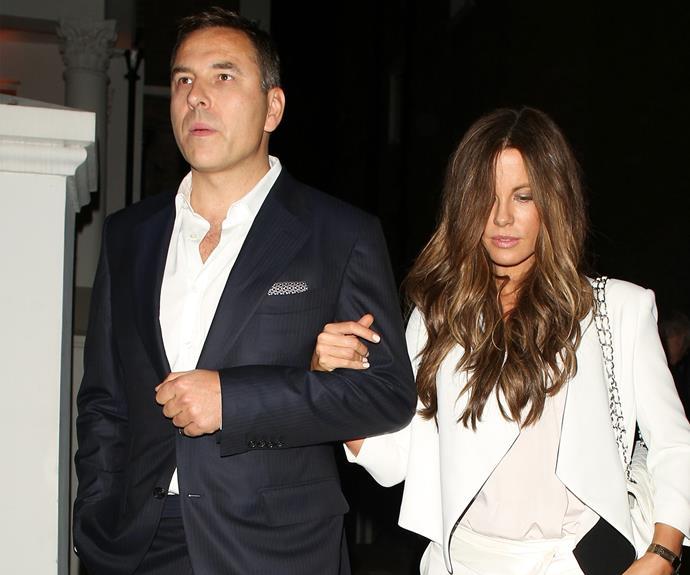 Kate has been spotted out with David Walliams.