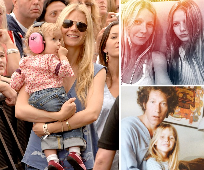 The apple doesn't fall from the tree, especially in the case of Gwyneth Paltrow and her daughter. The actress recently shared a throwback snap on Instagram in memory of her late father, Bruce, and young Gwyneth looks absolutely identical to her daughter Apple, no?