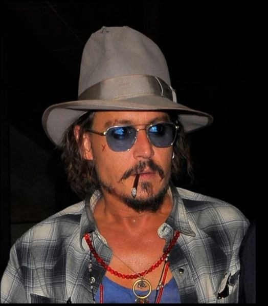 Johnny Depp once joked that he'd get his cigarette count up to 10,000 a day.
