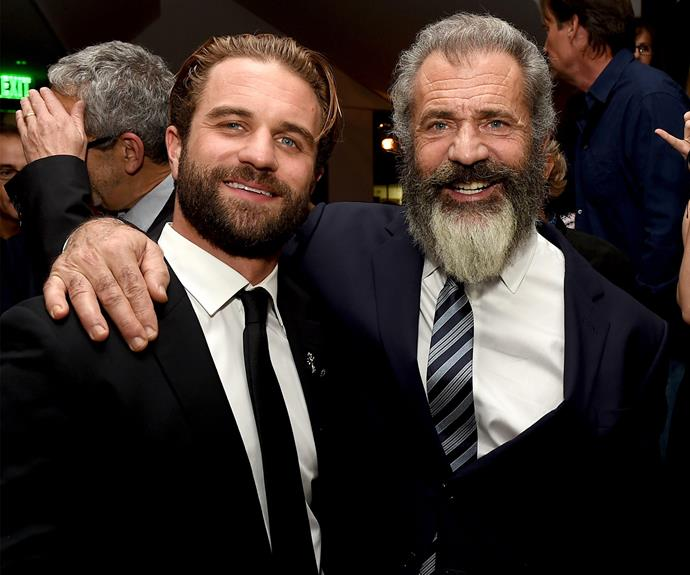 It's like looking into a mirror! Mel Gibson brought along his son Milo to the *Hacksaw Ridge* premiere, and the father-son duo couldn't have looked any close - literally! Milo is the star's fifth child with ex Robyn Denis Moore, with whom he has seven children. He also has a 6 year-old daughter and is expecting another child with girlfriend Rosalind Ross.