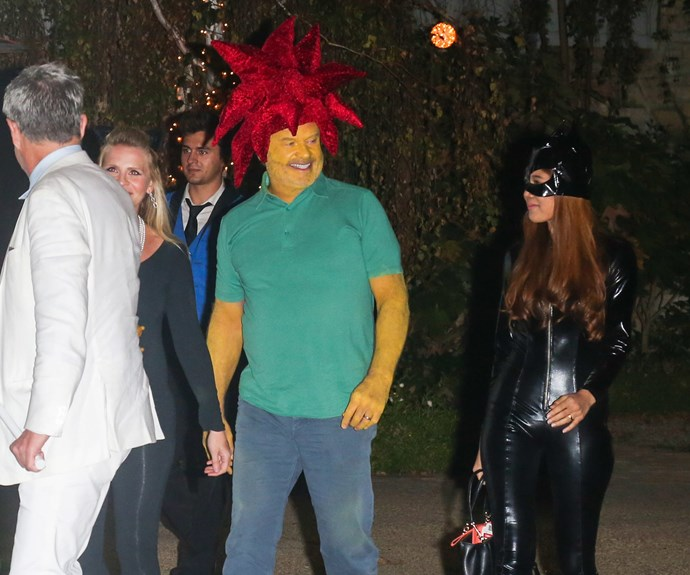 Kelsey Grammer impressed us all as his evil *Simpsons* character, Sideshow Bob.