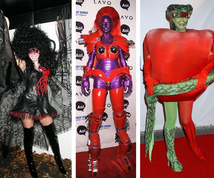 From spooky to sexy, Heidi's elaborate get-ups never fail to disappoint.