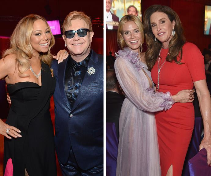 Elton John has been hosting his Oscars viewing party since 1993. Known for his love of all things luxe, Elton's AIDS Foundation Academy Award bash is one of the most popular philanthropic parties around. Mariah Carey, Heidi Klum and Caitlyn Jenner were just some of the big name stars in attendance this year.