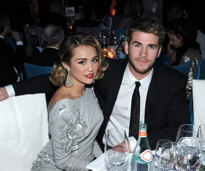 Past guests at Elton's Oscars viewing party have included everyone from Kylie Minogue to lovebirds Miley Cyrus and Liam Hemsworth.