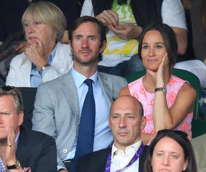 Pippa allegedly accepted the investment banker's proposal when he got down on one knee during a weekend escape to the Lake District.
