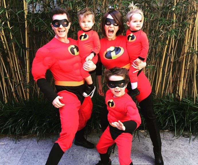 *Today Extra*'s David Campbell and his adorable family put on an *Incredible* display!