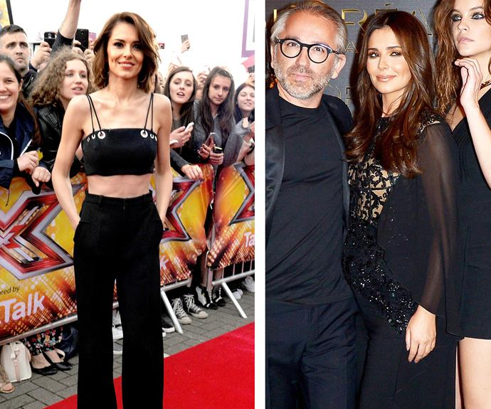 Then and now: In July last year, Cheryl's slender frame caused concern while an outing in Paris last month sent the pregnancy speculation into overdrive.