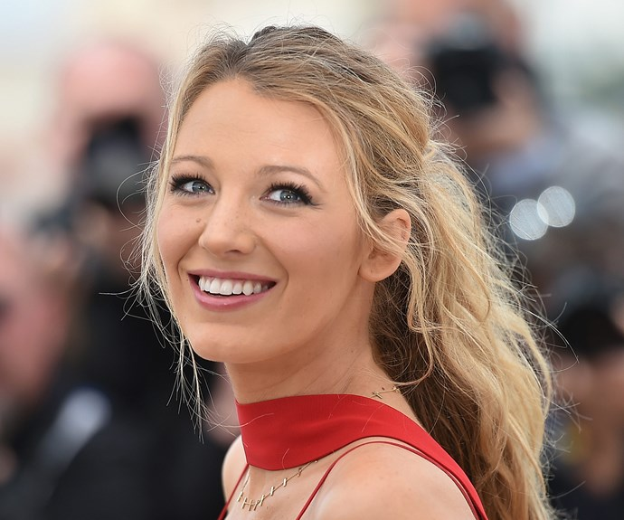 "The secret to Blake Lively's mermaid hair is in your pantry right now. ""My mum taught me this really great beauty tip. She used to put oil or mayonnaise on the bottom half of her hair before she would shower. That way, when she would shampoo, the soap wouldn't strip the bottom of the hair and dry it out, making it brittle,"" she told *Byrdie*."