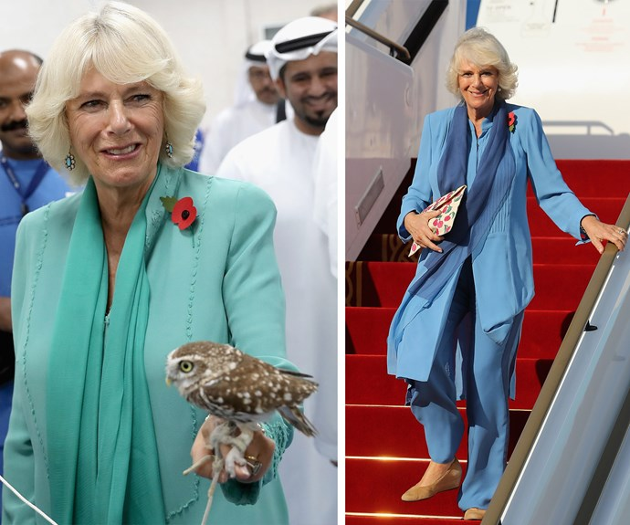 Camilla has been having a hoot of a time!