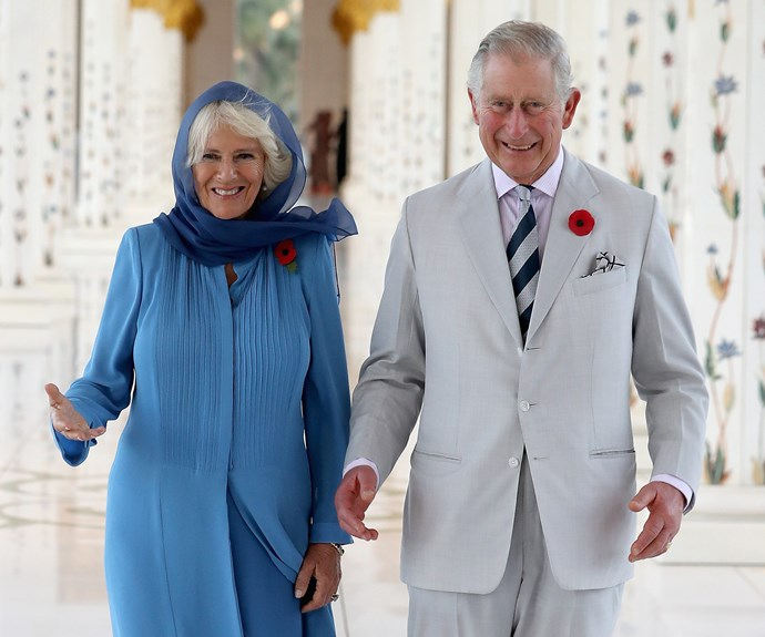 Prince Charles and Camilla, Duchess of Cornwall visit the Grand Mosque in Abu Dhabi on the first day of their royal tour of the United Arab Emirates.