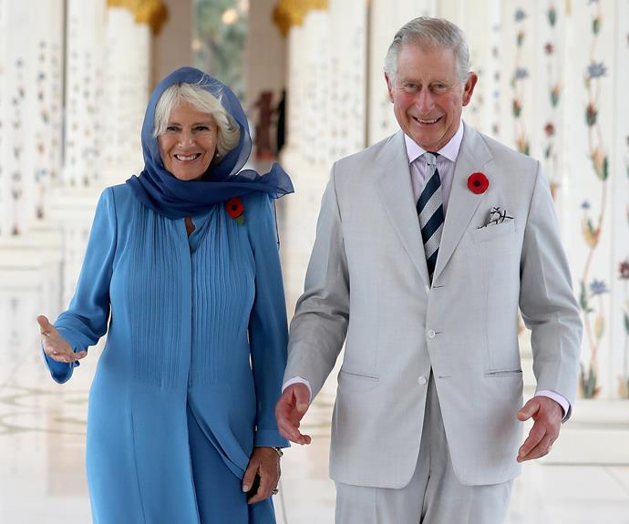 Charles and Camilla have welcomed Meghan with open arms.