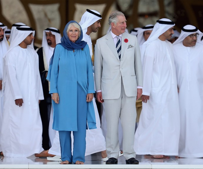"""For me, the visit is for recognition. The prince was able to speak to us and see the mutual tolerance which is reality in this country,"" Sheikha Lubna said of the hosting the couple."