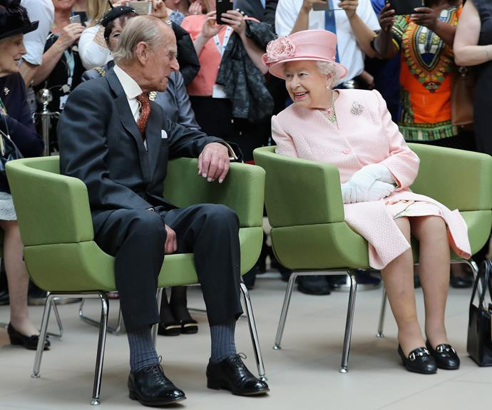 The way he looks at her... Even after decades of marriage, Prince Philip only ever had one Queen.