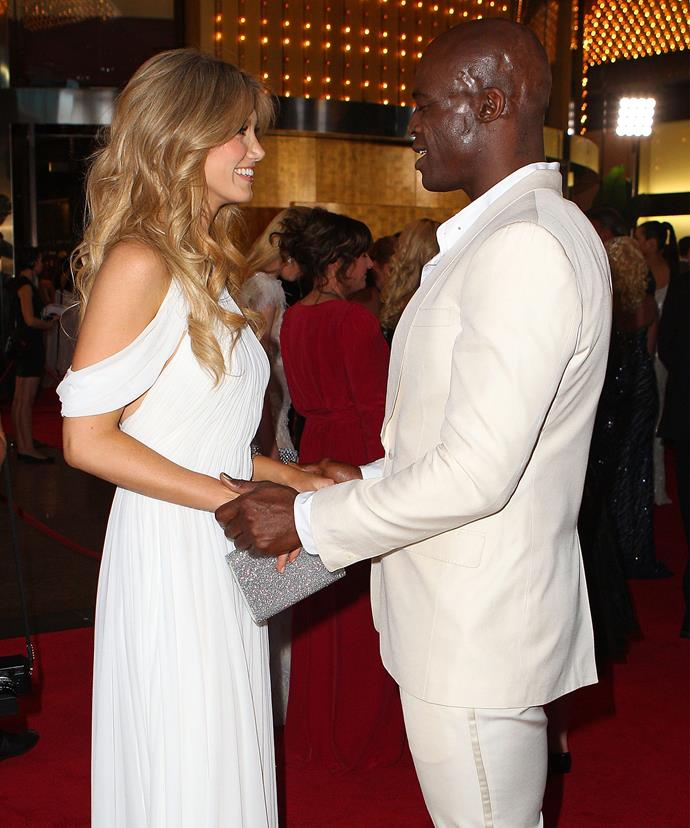 Delta says she can't wait to work with Seal again.