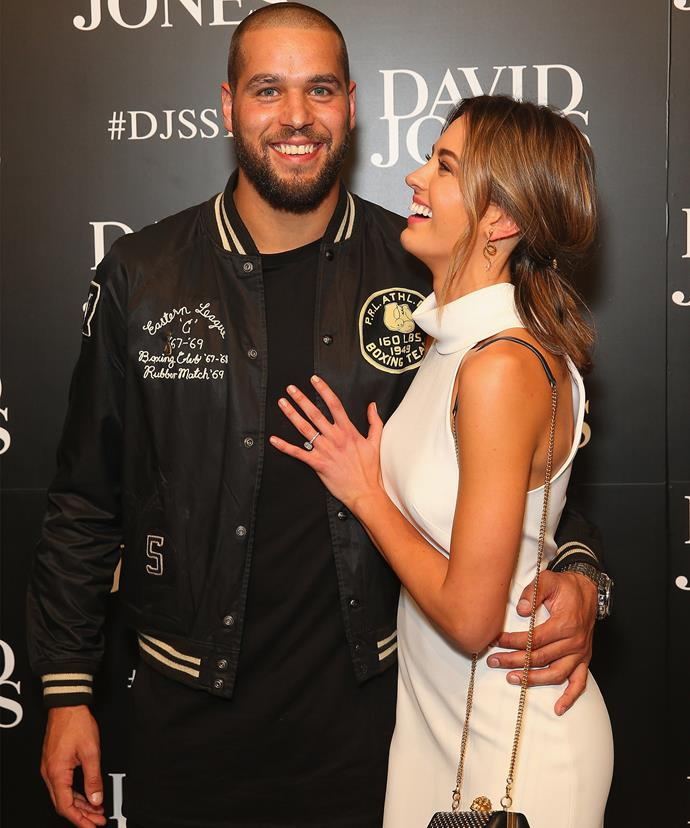 Jesinta has been applauded for her continuous support of her hubby.