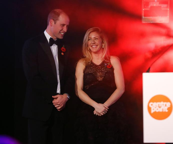 Wills also got the chance to catch up with his wedding singer, Ellie Goulding.