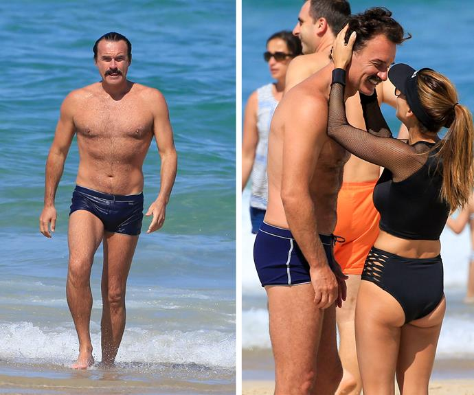 The 48-year-old is in incredible shape and wife Kelly certainly isn't complaining!