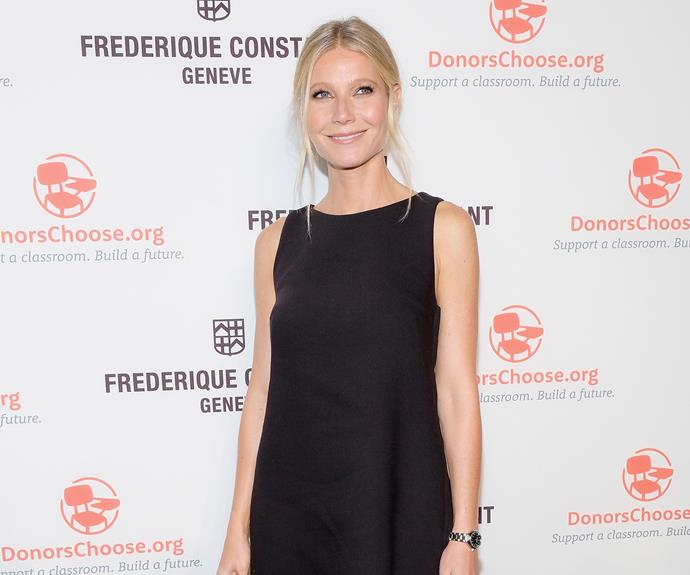 "Earlier this year in an interview with [*Glamour* magazine](http://www.glamour.com/story/gwyneth-paltrow-cover-interview|target=""_blank""