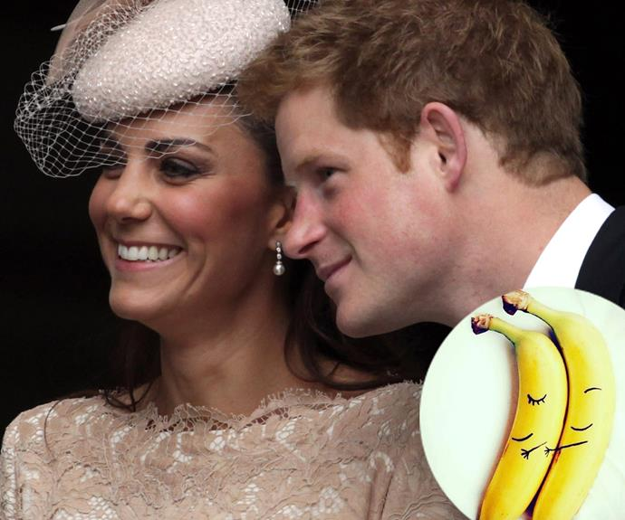 Kate is thrilled that Meghan and Harry are out in the open! Meghan recently posted this cute banana shot, seemingly referencing her new romance.