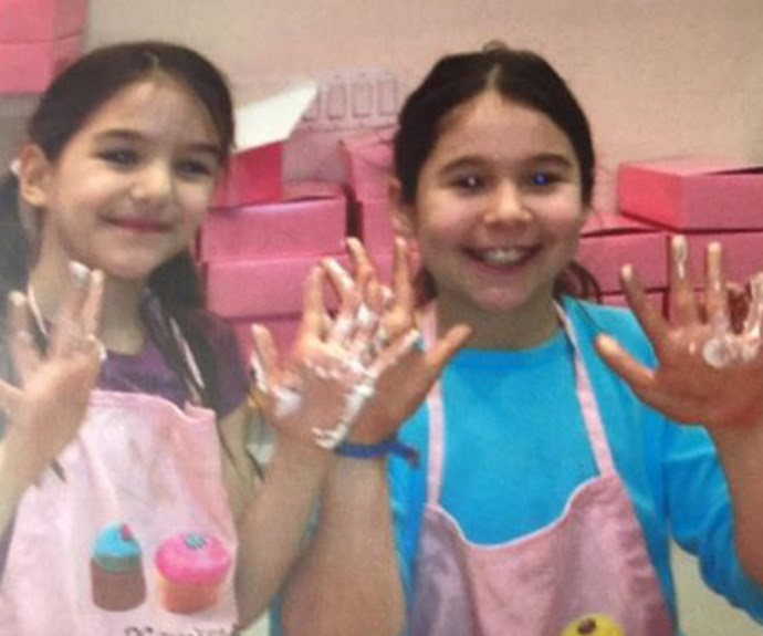 "Proud mum Katie Holmes has shared this precious new snap of her ten-year-old daughter Suri painting with a friend. ""Strong little girls that will become strong women. Let's keep fighting to make it a better world for our children❤️,"" Katie penned."