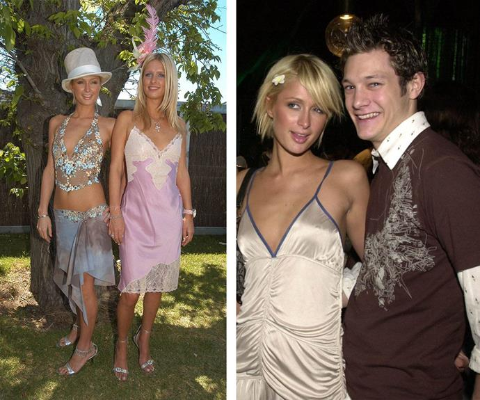 Paris and Rob hit it off when the star and her sister Nicky attended the 2003 Melbourne Cup.