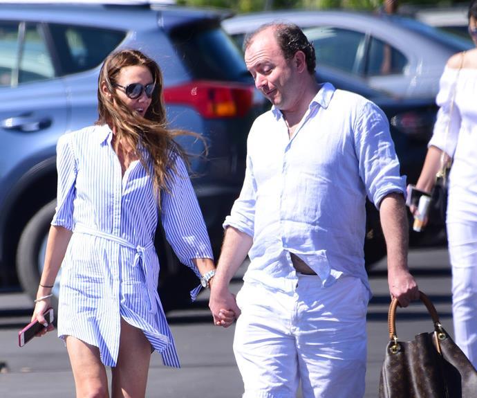Sanchia Brahimi split from her chef husband Guillaume Brahimi earlier in the year.