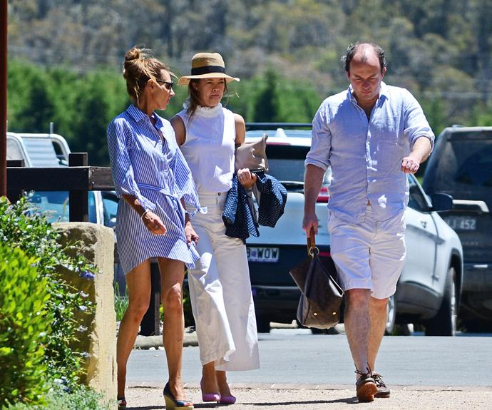 Two weeks ago, the pair were spotted spending a long weekend at Berrima in the Southern Highlands.