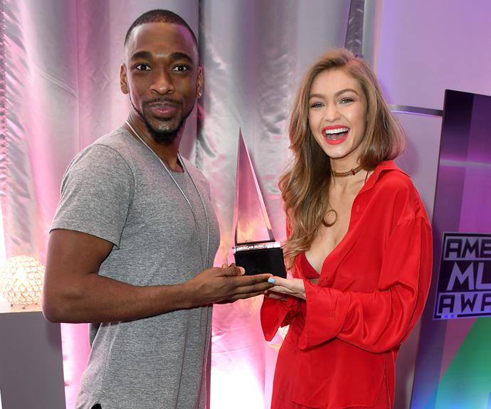 Supermodel Gigi Hadid and comedian Jay Pharoah are hosting the fan-voted award show.