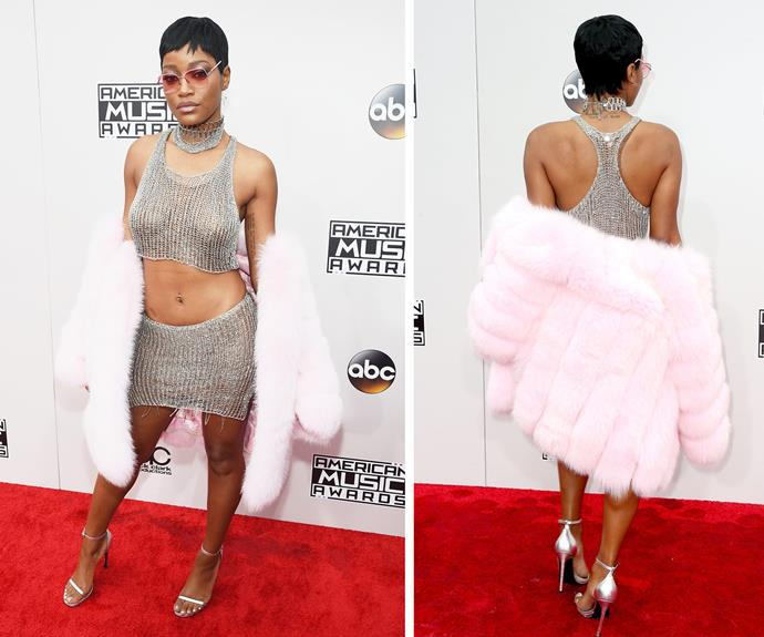 Screaming for this queen! Keke Palmer channeled her best Rihanna and we think the *Scream Queens* actress slayed!