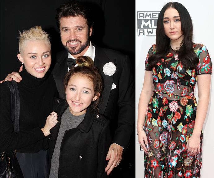 "Miley's 16-year-old little sister has just made her foray into the music world, releasing her single *Make me (Cry)*. [Check out Noah's incredible transformation right this way!](http://www.womansday.com.au/entertainment/viral/miley-cryus-sister-noah-cyrus-is-all-grown-up-13356|target=""_blank"")"