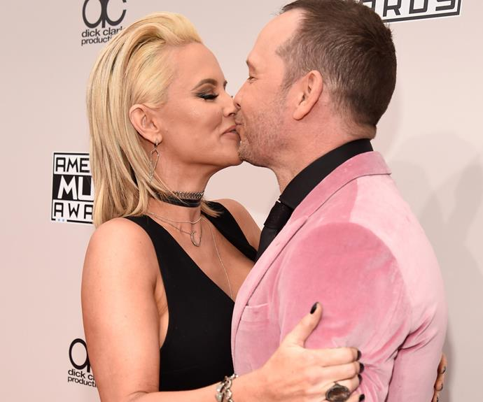 Jenny McCarthy wants to send a PSA: She loves her hubby Donnie Wahlberg.