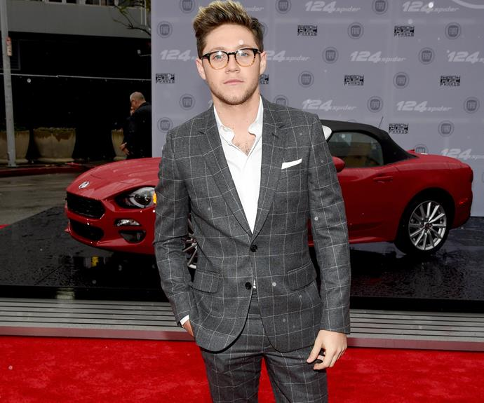 Now that's the right direction, looking sharp Niall Horan! The Brit is expected to go solo on the stage tonight.