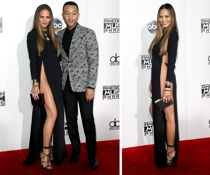 We're guessing hubby John Legend will penning a brand new ballad, inspired by his wife's sultry look.