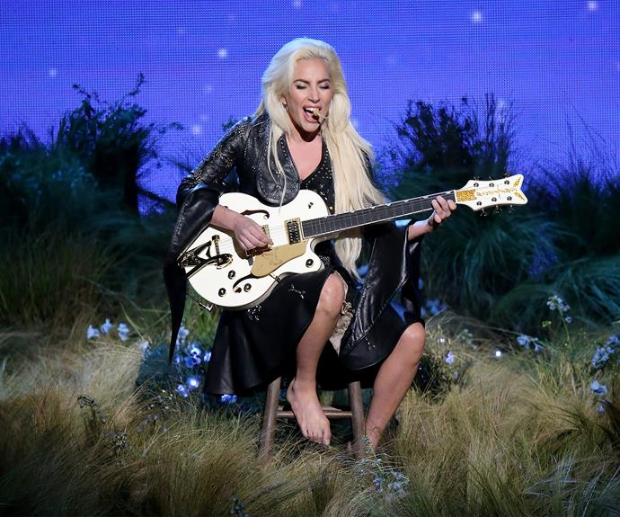 Lady Gaga blew viewer away with her vocals.