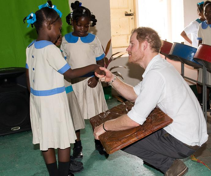 Prince Harry last visited the island when he was 12, along with his big brother and late mum Princess Diana.