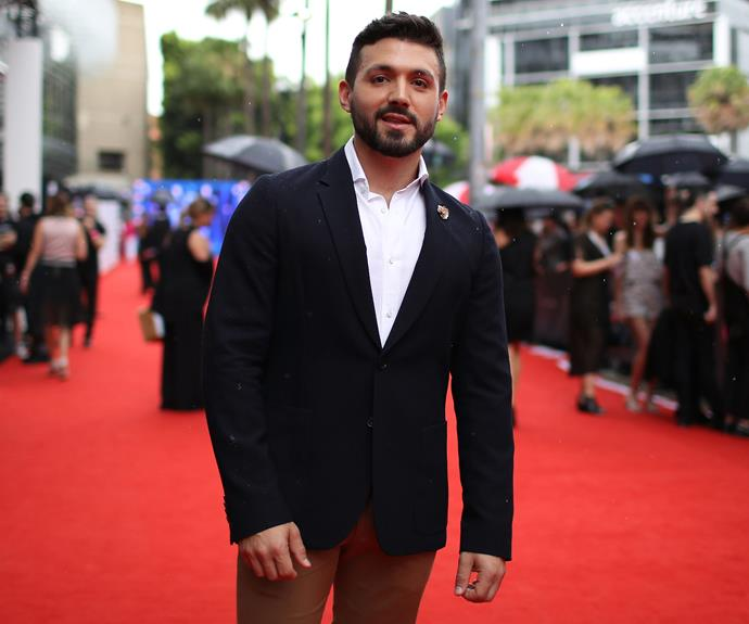 The Voice Australia 2016 winner Alfie Arcuri looked dapper.